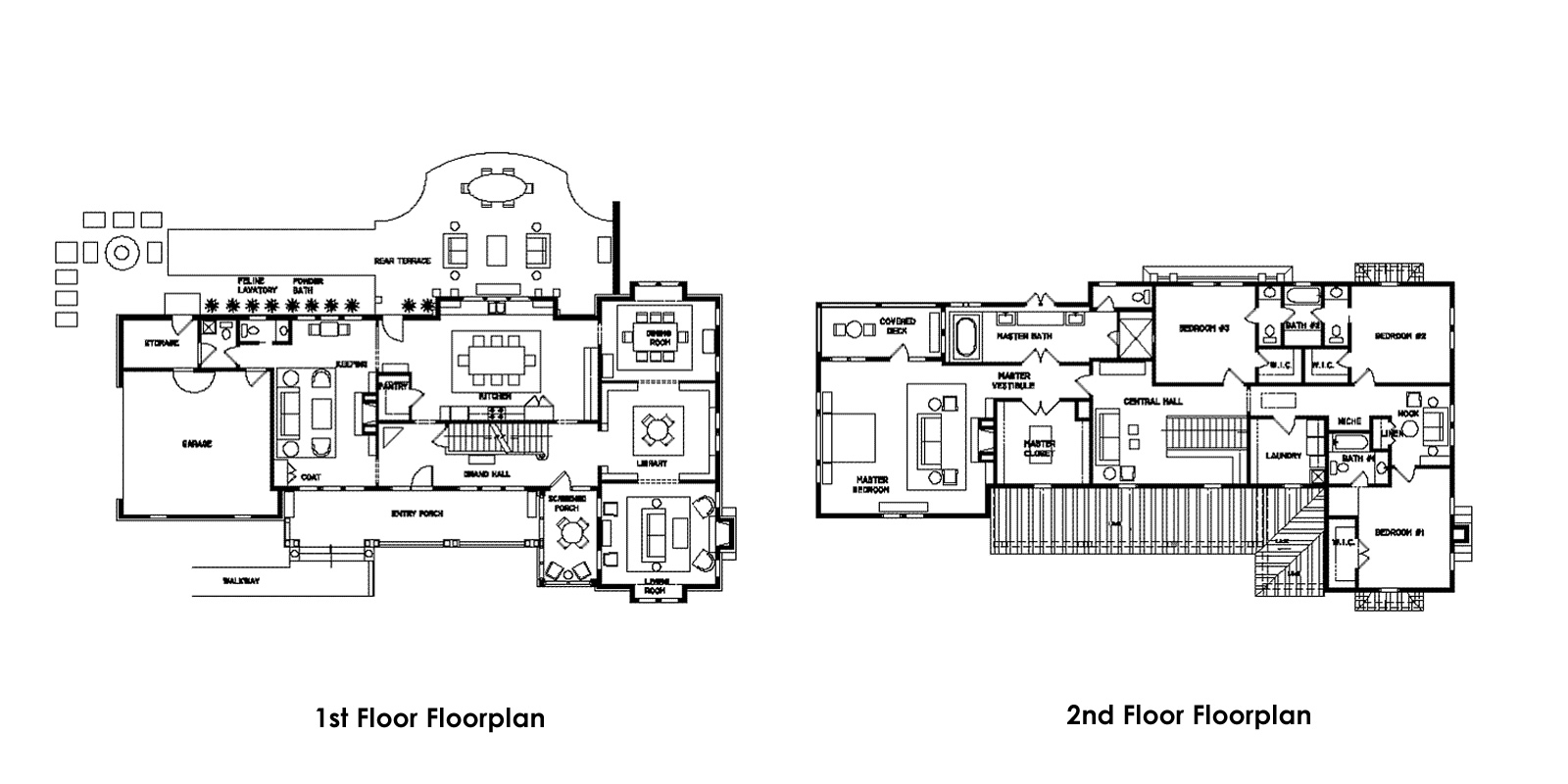 Historic house floor plans house plans home designs Historic colonial house plans